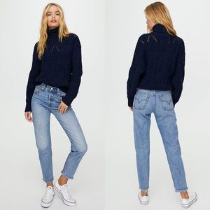 Levi's Wedgie High-Waisted Jean Shut Up NWOT